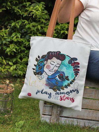Bolsas con ilustraciones. In-Diana