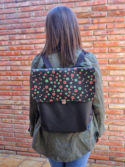 Bolsos y mochilas handmade. In-Diana
