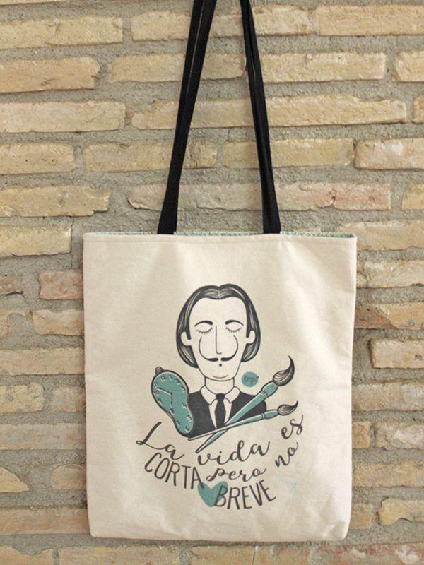 Tote bag diseño original. In-Diana