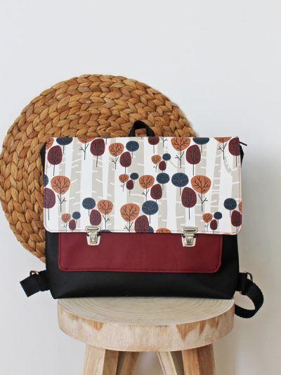 Mochilas handmade. In-Diana